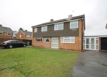 Thumbnail 3 bed semi-detached house to rent in Wellfield, Newtown, Tewkesbury