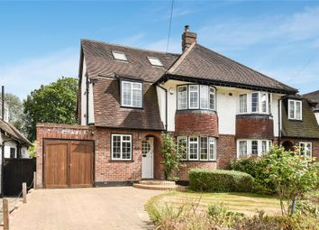 Thumbnail 4 bed semi-detached house for sale in Manor Way, Petts Wood, Orpington
