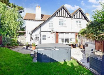 Thumbnail 3 bed semi-detached house for sale in Chaucer Road, Elvington, Nr Dover, Kent
