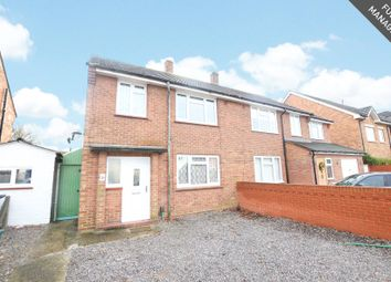 Thumbnail 3 bed semi-detached house to rent in Murrells Lane, Camberley, Surrey