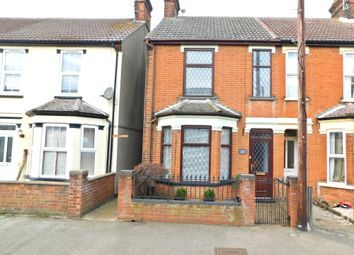Thumbnail 3 bed end terrace house for sale in Maidstone Road, Felixstowe