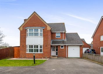 Thumbnail 4 bed detached house for sale in The Pastures, Cowbit, Spalding