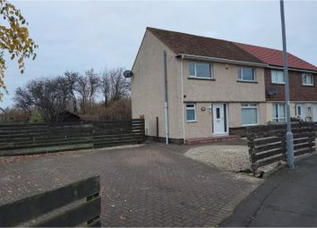 Thumbnail 3 bed semi-detached house for sale in Cowan Crescent, Ayr