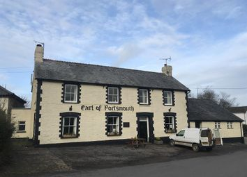 Thumbnail Hotel/guest house for sale in Substantial Mid-Devon Village Freehouse EX18, Chawleigh, Devon