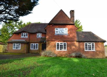 Thumbnail 4 bed detached house to rent in Upper Beeding, Steyning, West Sussex