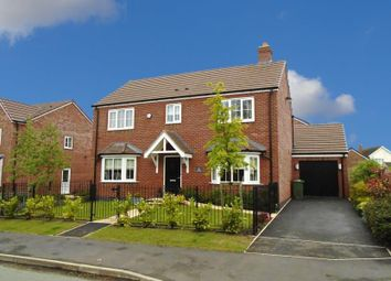Thumbnail 4 bed detached house for sale in Ivetsey Road, Wheaton Aston, Stafford