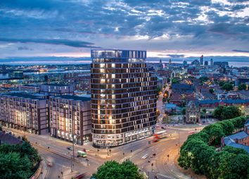 Thumbnail 2 bed flat for sale in Parliament Square Phase 1, Greenland Street, Liverpool