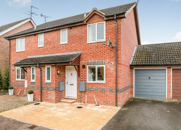 Thumbnail 3 bedroom semi-detached house for sale in Woolven Close, Burgess Hill