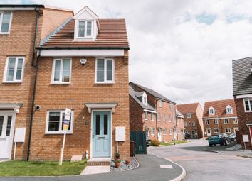 Thumbnail 3 bed end terrace house for sale in Wheatcroft Gardens, Penistone, Sheffield
