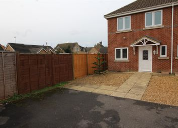 Thumbnail 3 bedroom semi-detached house for sale in Gilbert Close, Whittlesey, Peterborough