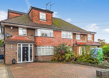 Thumbnail 4 bed semi-detached house for sale in Broadhurst Avenue, Edgware, Greater London.