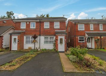 Thumbnail 2 bed semi-detached house for sale in Stallcourt Close, Penylan, Cardiff