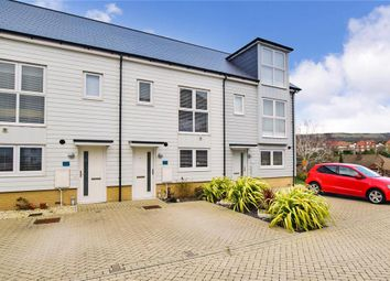 Thumbnail 2 bed terraced house for sale in Kings Way, Folkestone, Kent