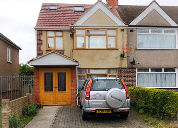 Thumbnail 4 bed semi-detached house for sale in Cheddar Waye, Hayes