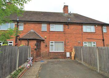 Thumbnail 2 bed terraced house for sale in Denewood Crescent, Bilborough, Nottingham
