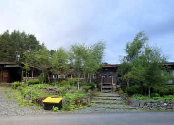 Thumbnail Hotel/guest house for sale in The Log Cabin Hotel, Glen Derby, Kirkmichael, Perthshire