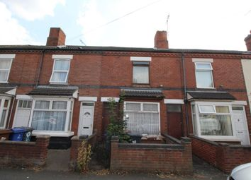 Thumbnail 3 bed terraced house for sale in Leicester Street, Burton-On-Trent
