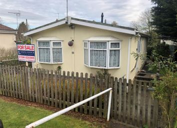 Thumbnail 2 bed mobile/park home for sale in Station Road, Milkwall, Coleford