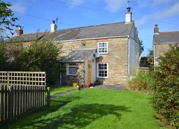 Thumbnail 2 bed end terrace house for sale in Goonbell, St Agnes, Cornwall