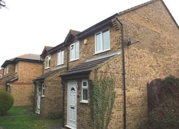 Thumbnail 3 bedroom end terrace house to rent in Conway Place, Eynesbury, St. Neots