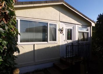 Thumbnail 2 bed mobile/park home for sale in Thatched Cottage Park, Southampton Road, Lyndhurst