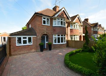 Thumbnail 4 bedroom semi-detached house for sale in Baydon Drive, Reading