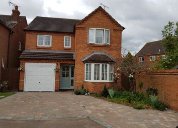 Thumbnail 3 bed detached house for sale in Thornton Close, Northampton, Northamptonshire
