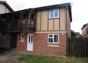 Thumbnail 1 bed flat to rent in Home Pasture, Werrington, Peterborough