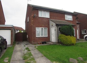 Thumbnail 2 bed semi-detached house to rent in The Spinney, Brackla, Bridgend.