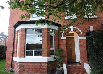 Thumbnail 4 bed property to rent in Burton Road, West Didsbury, Didsbury, Manchester
