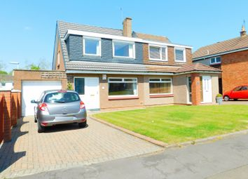 Thumbnail 3 bed semi-detached house for sale in Morrison Drive, Dunfermline