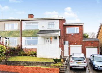 Thumbnail 4 bed semi-detached house for sale in Ridgeway Road, Llanrumney, Cardiff