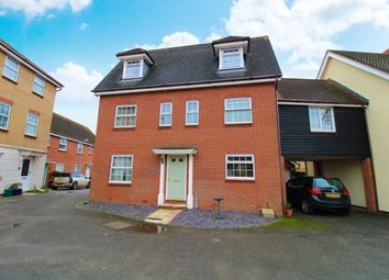 Thumbnail 5 bed link-detached house for sale in Shepherd Drive, Colchester, Essex
