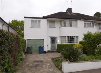 Thumbnail 4 bed semi-detached house for sale in Kynaston Close, Harrow, Middlesex
