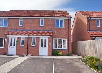 Thumbnail 3 bed semi-detached house for sale in Cupola Close, North Hykeham