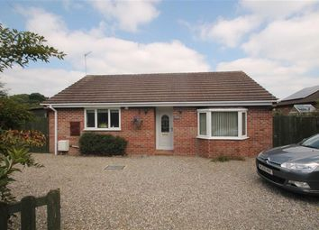 Thumbnail 2 bed detached bungalow for sale in School Lane, Gobowen, Oswestry