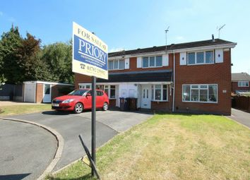 Thumbnail 2 bed town house for sale in Bellringer Close, Biddulph, Stoke-On-Trent
