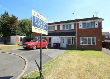 Thumbnail 2 bedroom town house for sale in Bellringer Close, Biddulph, Stoke-On-Trent