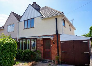 Thumbnail 3 bed semi-detached house for sale in Pointout Road, Southampton