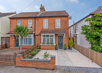 Thumbnail 3 bed semi-detached house for sale in Green Lane, West Molesey, Surrey