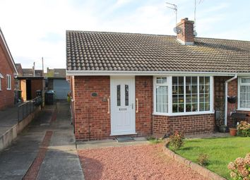 Thumbnail 2 bedroom semi-detached house for sale in Hambleton View, Tollerton, York