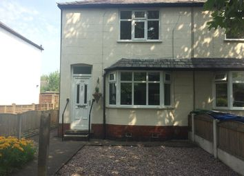 Thumbnail 2 bed semi-detached house to rent in Shaws Avenue, Warrington