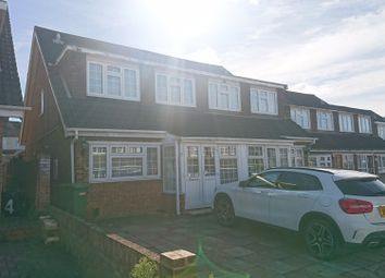 Thumbnail 4 bedroom semi-detached house for sale in Tryfan Close, Red-Bridge