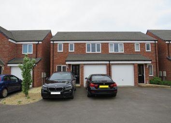 Thumbnail 3 bed semi-detached house for sale in Saxonbury Way, Peterborough