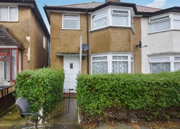 Thumbnail 4 bed semi-detached house to rent in Brent Way, Wembley