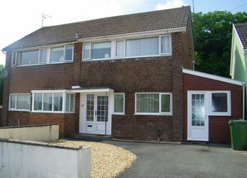 Thumbnail 3 bed semi-detached house for sale in Bunkers Hill, Steynton, Milford Haven