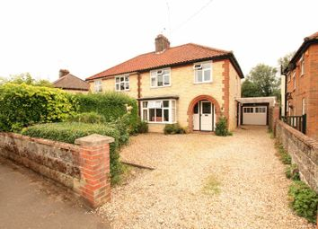 Thumbnail 3 bed semi-detached house for sale in Hayes Lane, Fakenham