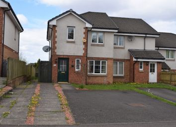 Thumbnail 3 bedroom end terrace house for sale in Hardridge Road, Corkerhill, Glasgow