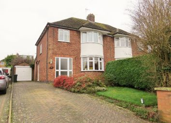 Thumbnail 3 bed semi-detached house for sale in Worsfold Close, Allesley, Coventry