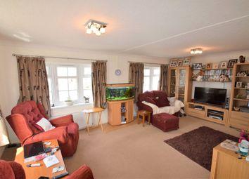 Thumbnail 2 bedroom mobile/park home for sale in Rymer Court, Barnham, Thetford